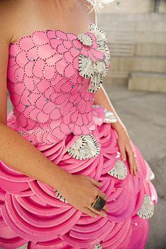 Wow. A Paper Wedding Dress