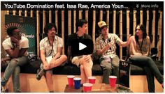 Here is Part 1 of our Film Courage / HollyShorts Panel - YouTube Domination: How YouTubers Are Taking Over The Film World featuring Issa Rae (Awkward Black Girl), America Young (Comediva), Ryan Reyes (PimplyWimp), and Stephen Dypiangco & Patrick Epino (National Film Society).  We hope you can benefit from this video capture, we tried to grab what we could while also moderating the panel.  There was only one microphone so there are places where audio may be hard to understand.