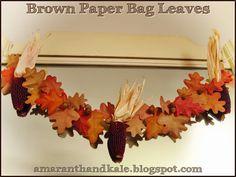 Amaranth & Kale: Brown Paper Bag Leaves