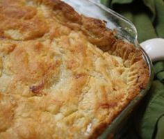 James Beard's famous old-fashioned chicken pie - 1974.