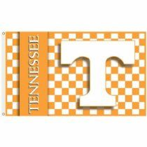 BSI Sports Team Logo Design Embroidered Decorative Tennessee Volunteers 2-Sided 3 Ft. X 5 Ft. Flag With Grommets