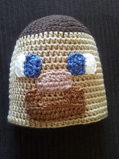 Minecraft Steve Hat