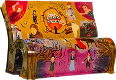 """The Daily Glean: London's illustrated """"BookBench"""" project"""