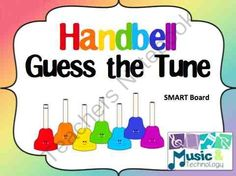 Handbell Guess the Tune for SMART Board from Music and Technology on TeachersNotebook.com -  (20 pages)  - A guess the tune game using handbells for SMART Board