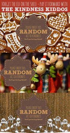 Looking for an Elf on the Shelf alternative? How about letting the Kindness Kiddos teach your children about random acts of kindness!