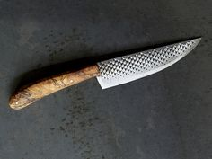 Handmade Knife ($450): Want something one-of-a-kind for your meat connoisseur? Gift them a gorgeous handmade knife that's made with found materials.