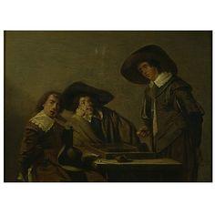 oil paintings, netherland artistmak, codd, pieter, player oil