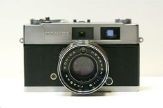 1960's Konica 35 mm Rangefinder Camera with Lens by CanemahStudios, $35.00