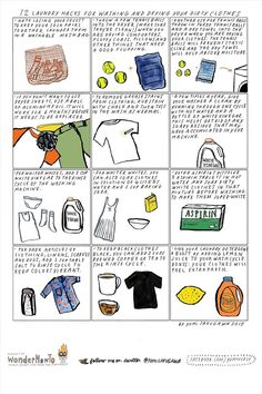 12 Laundry Hacks for Washing & Drying Your Dirty Clothes « The Secret Yumiverse