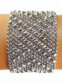Sergio Gutierrez Liquid Metal Bracelet B44 Skyler White Breaking Bad 7.0