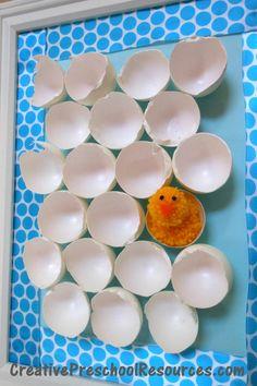 Adorable Chick & Egg Art