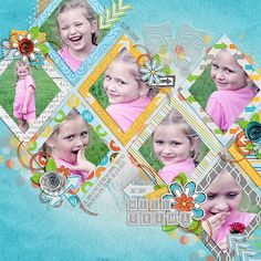 #papercraft #scrapbook #layout  Credits: In the City by the Scrap Orchard Designers, Font: KG Skinny Latte