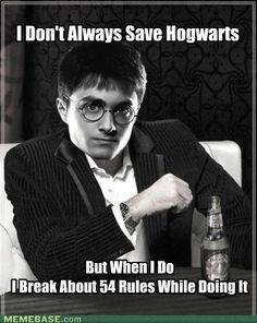 Harry Potter - ha!