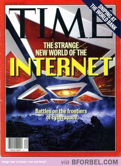 The Strange New World Of The Internet…