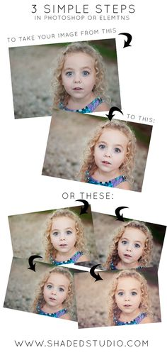3 Step Edit for Photoshop or Elements to Transform Your Image