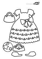 Printable paper dolls for GIRLS | krokotak