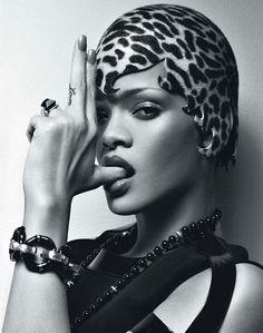 rihanna, bracelets, bangs, accessories, black, leopard, bullets, bang bang, hat