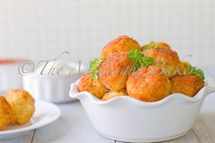 Party Rice Balls rice ball, balls, appet, food, parties, cheesi parti, parti rice, recip, snack