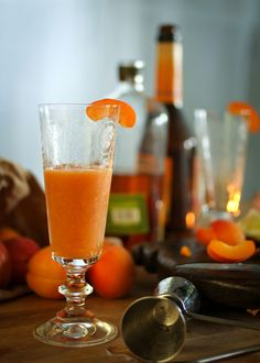 """The """"Helen"""" -- a gorgeous apricot and rye cocktail"""