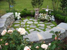 Memorial garden.