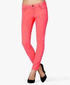 Neon Skinny Jeans   FOREVER 21 - 2037439037
