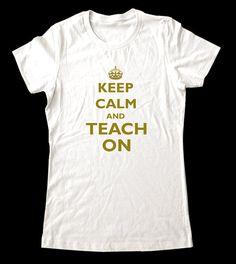teacher shirt!