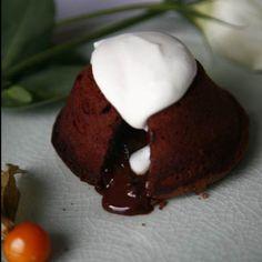 chocolate volcano #chocolate #cake
