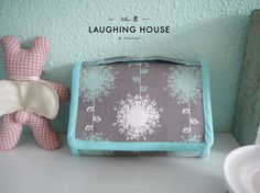 Mini Accordian Purse Dandelion Shrooms by thelaughinghouse on Etsy, $24.99