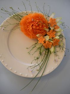 Carrot/Celery Garnish by wtimm9, via Flickr - Several pix of beautiful garnishings but no instructions...