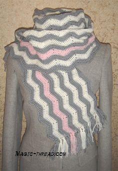 Crochet Scarf | Free patterns