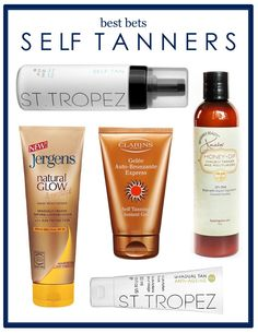Best of Self Tanners 2013 | Beauty Bets
