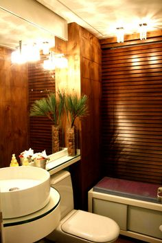 decoracao lavabo rustico : Banheiros e Lavabos on Pinterest