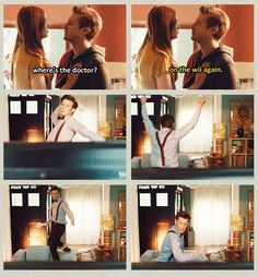 If you're worried that the Ponds didn't get to raise a child, they did. His name is the Doctor.