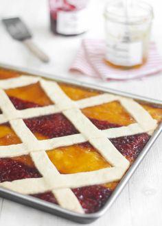 lattice pie bars ... so pretty!