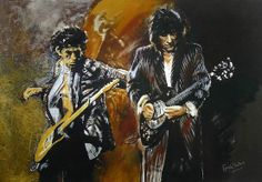 Keith Richards & Ronnie Wood