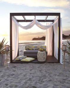 Outdoor Cabana - Horchow