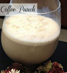 Carolina Charm: Coffee Punch - bridal shower punch?
