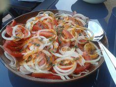 Pittige Marokkaanse Tomatensalade recept | Smulweb.nl