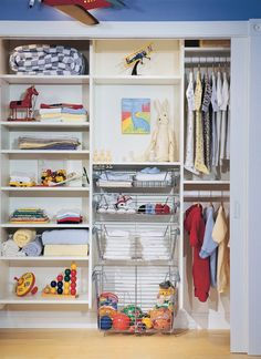 Children's closet....Dream closet that is!