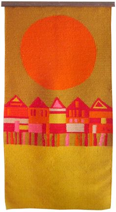 MID-CENTURIA : Art, Design and Decor from the Mid-Century and beyond: Evelyn Ackerman Tapestries III
