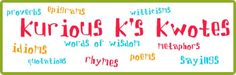 Kurious K's Kwotes: a definition of magic friday 22814, poetri friday