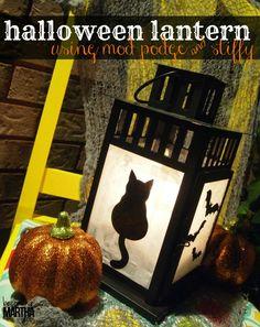 Halloween Lantern - Becoming Martha #HalloweenMP
