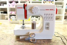 Sewing on Cards | a tutorial from Splitcoastscrappers