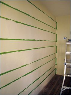 painting stripped walls