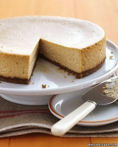 yum, Pumpkin Cheesecake