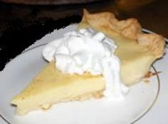 Yum... I'd Pinch That! | Mom's Blue Ribbon Egg Custard Pie