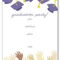 Give a like for this free and fun graduation invitation.