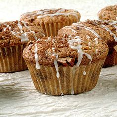 Healthy Muffin Recipes | Sour Cream and Coffeecake Muffins | CookingLight.com