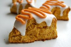 Starbucks Pumpkin Scone! Need to try these!