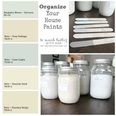 organize your house paints somuchbetterwithage.com